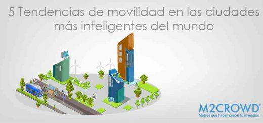5 tendencias de movilidad en las ciudades más inteligentes del mundo