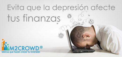 La depresión puede incidir en nuestra situación financiera, y puede conducirnos a tomar malas decisiones sin siquiera estar conscientes de ello.