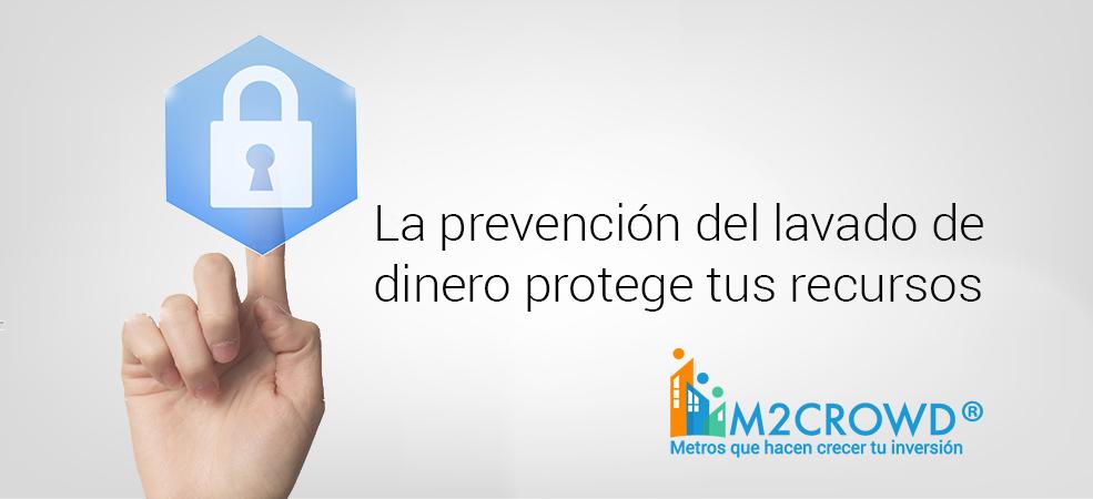 La prevención del lavado de dinero protege tus recursos