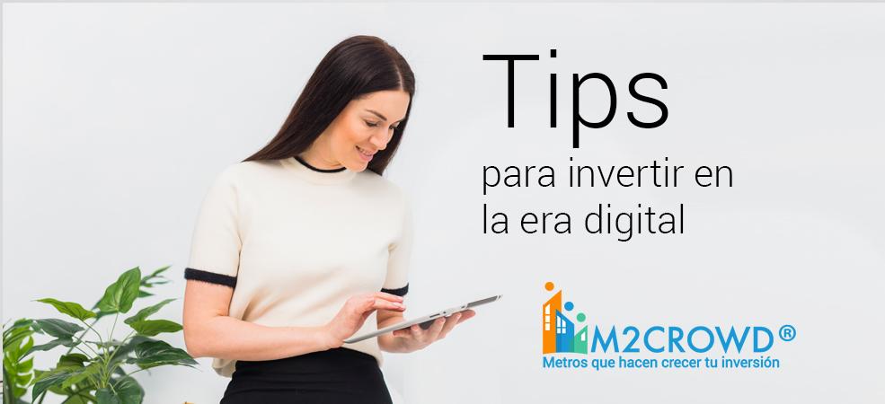 Consejos para invertir en la era digital